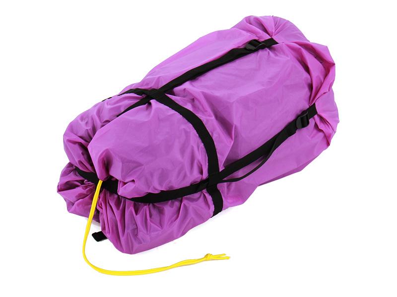 エアフレームテントの各部の特徴(専用コンプレッションバッグ)