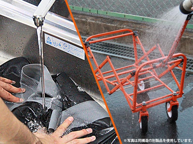 ボストンバッグワゴンウォッシャブルの各部の特徴(丸洗い)