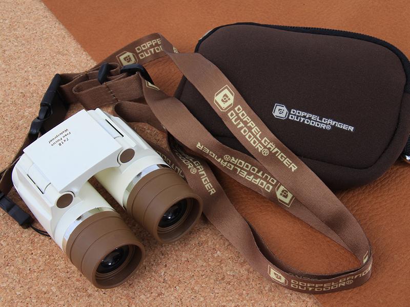 フリーフォーカス双眼鏡BC1-184(ベージュ)の製品画像