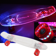 LEDスケートボード画像