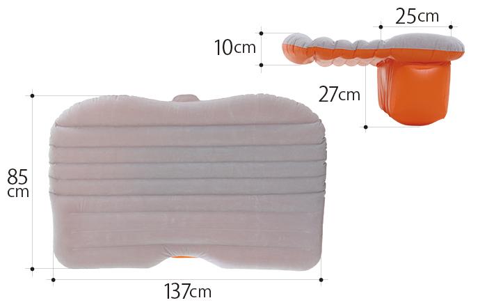 セダンモベッドのサイズ画像