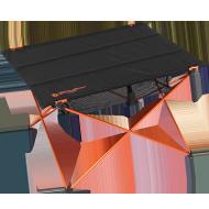 ウルトラライトラージテーブル(超々ジュラルミン)画像