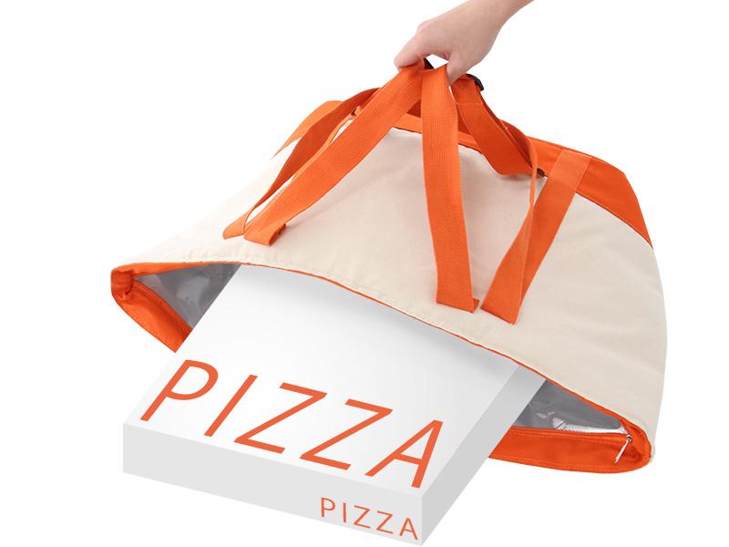 ビッグソフトクーラーバッグのメインの特徴(ピザやお寿司もすっぽり)