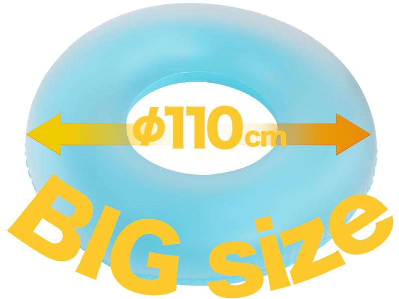 エレクトリック浮き輪のメインの特徴(ビッグサイズ)