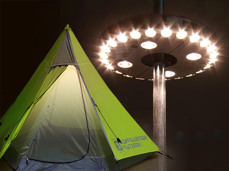 UFOライトの使用の一例