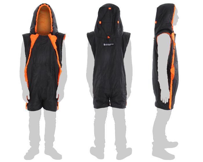 人型寝袋 ハンソデシリーズの製品画像