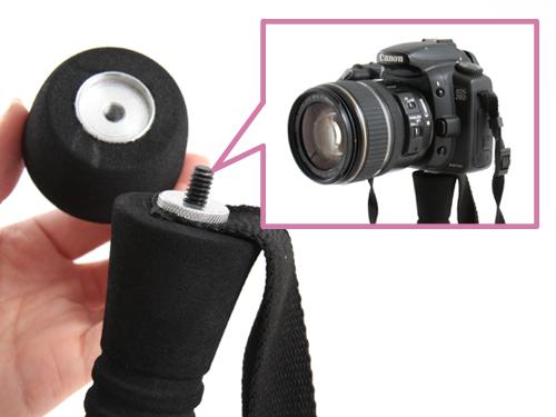 マルチトレッキングポールの各部の特徴(カメラアダプタ)