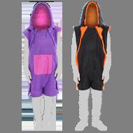 人型寝袋 ハンソデシリーズ画像