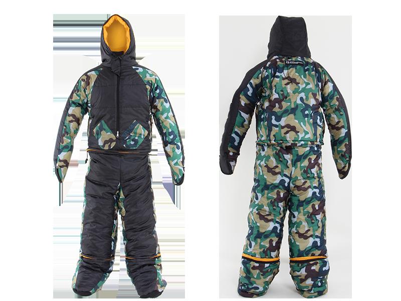 人型寝袋ver7.0 ヌクヌクシリーズレギュラーサイズの製品画像