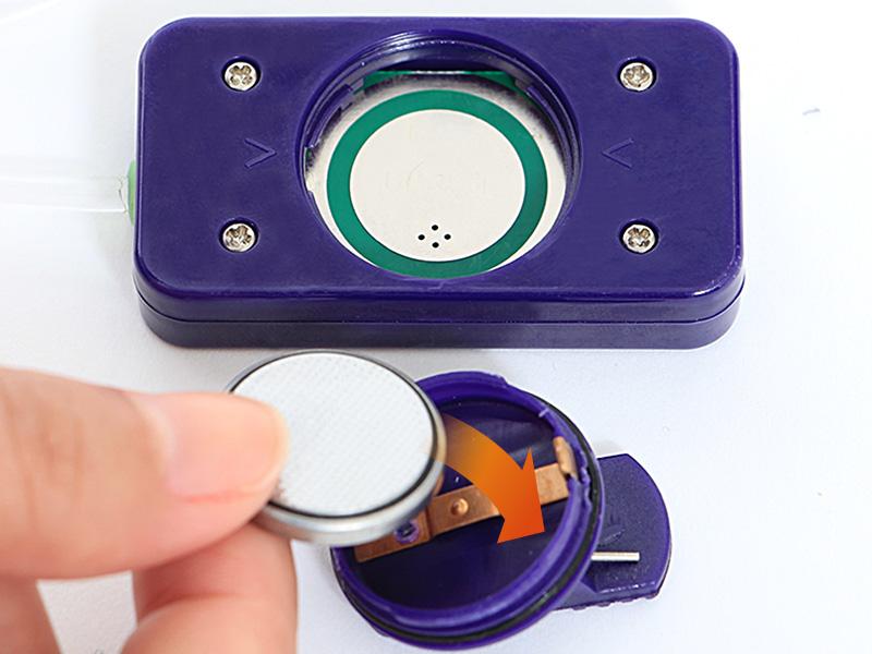 LEDテントロープライト電池交換方法画像