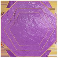 ワンポールテント用グランドシート(多角形タイプ)画像