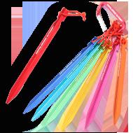 レインボージュラルミンペグの製品画像