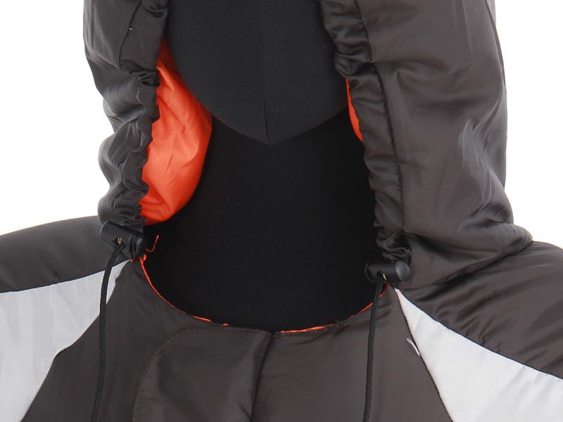 人型寝袋ver6.0 ダウンシリーズ の各部の特徴(ドローコード)