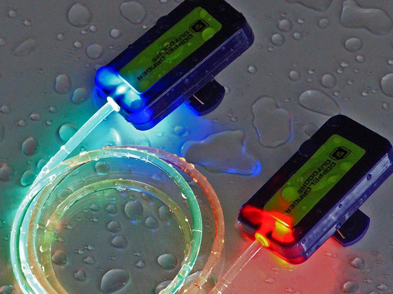 LEDテントロープライトの各部の特徴(防水構造)