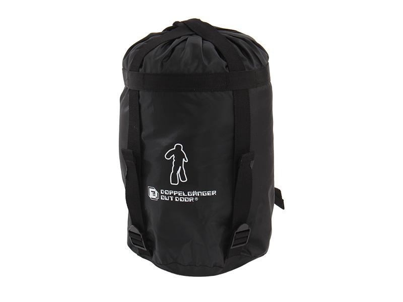 人型寝袋ver6.0の各部の特徴(コンプレッションバッグ)