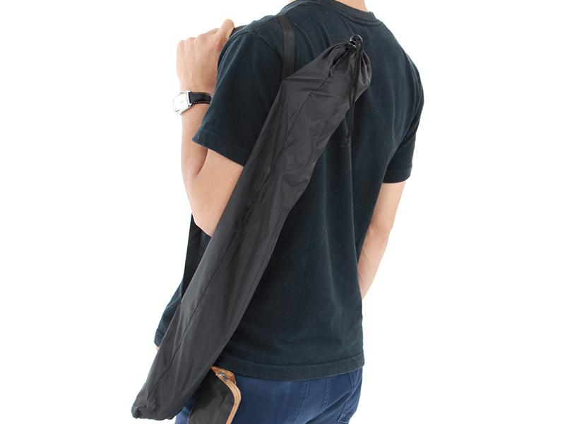 オヒトリサマトレッキングポールの各部の特徴(専用キャリーバッグ)