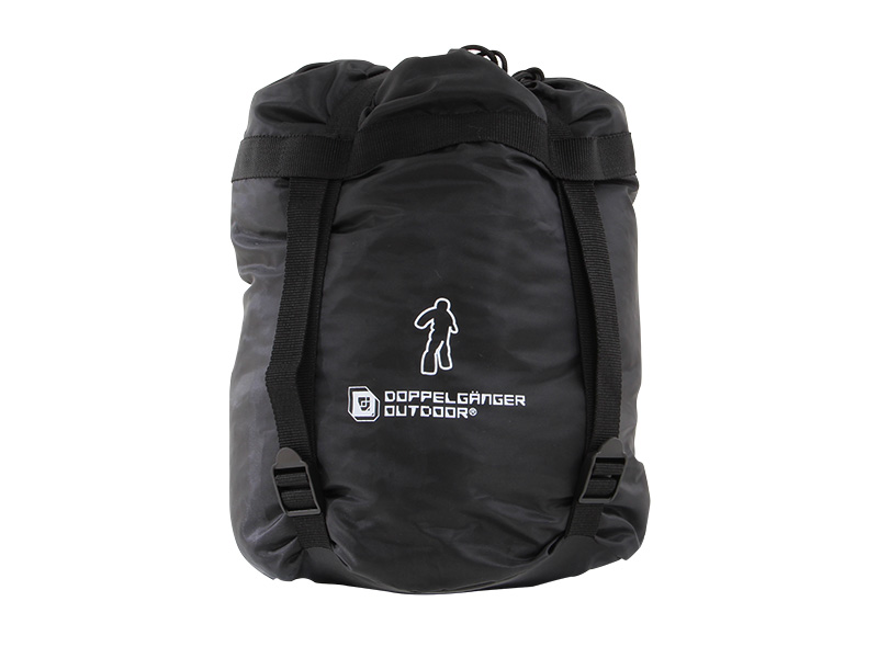 人型寝袋ver7.0 ダウンシリーズの各部の特徴(コンプレッションバッグ)