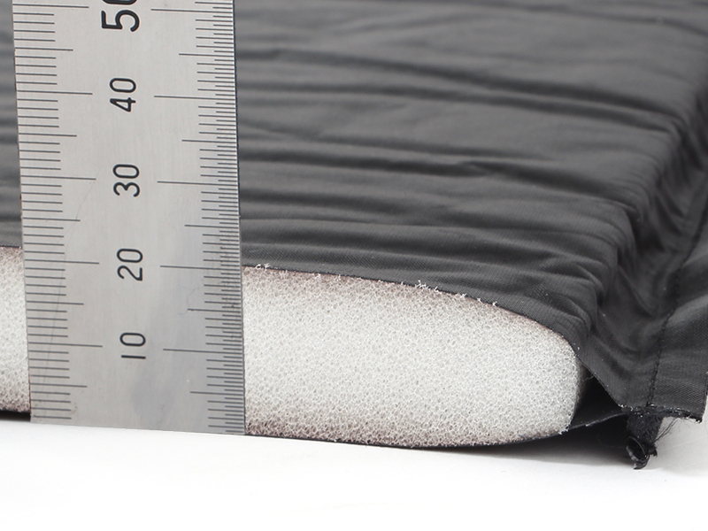 マットインスリーピングバッグの各部の特徴(衝撃吸収&断熱効果)