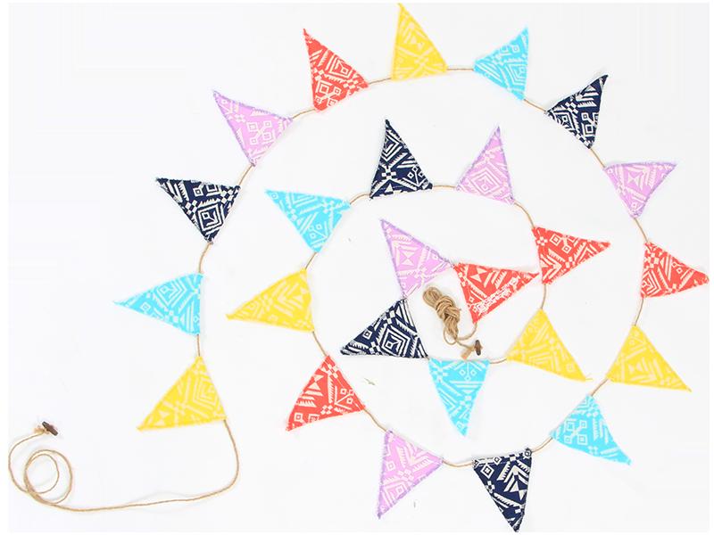 コットンフラッグガーランドの製品画像