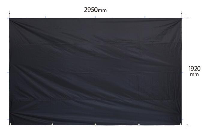 サイドパネルのサイズ画像