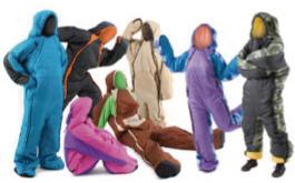人型寝袋 ハンソデシリーズ製品開発ストーリー画像