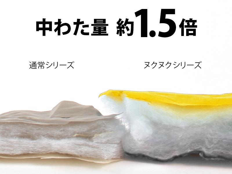 人型寝袋ver7.0 ヌクヌクシリーズのメインの特徴(Ver.7.0からの新仕様:こだわりのぬくぬくポイント)