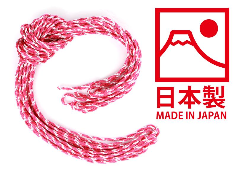 ダブルリフレクションロープのメインの特徴(日本製)