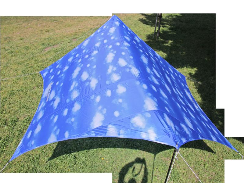 アオゾラタープの製品画像