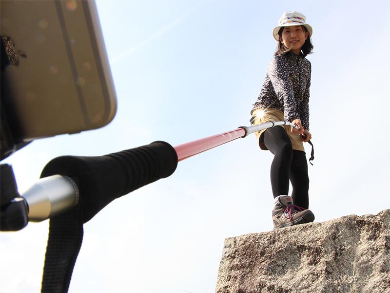 オヒトリサマトレッキングポールのギャラリー画像