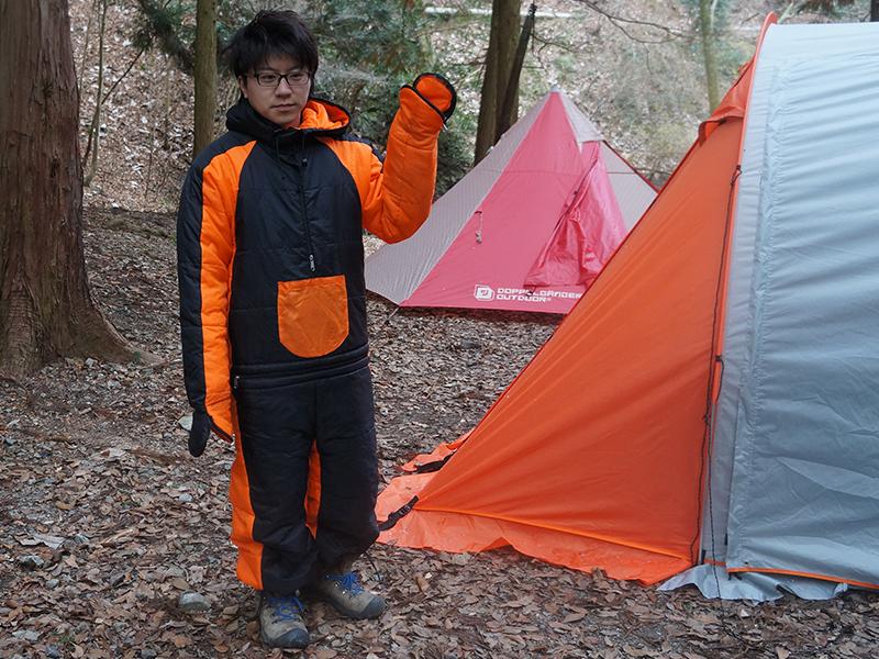 冬キャンプ防寒寝袋セット結果:「0℃程度であれば快適に眠れた!」画像