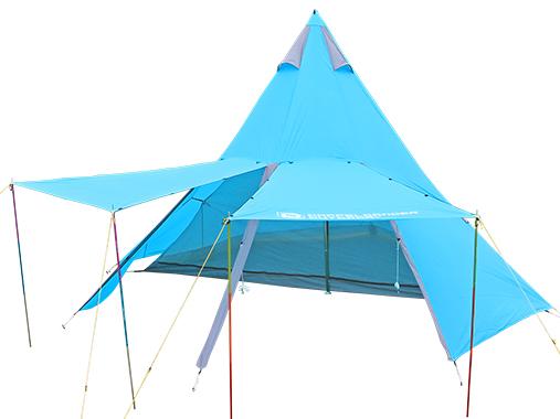 ワンポール/ティピー型テント