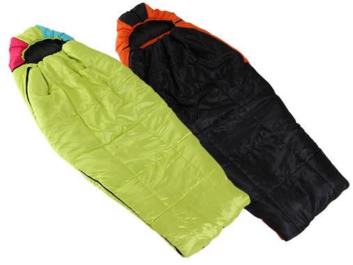 マミー型寝袋(シュラフ)