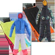 冬キャンプ防寒寝袋セット画像