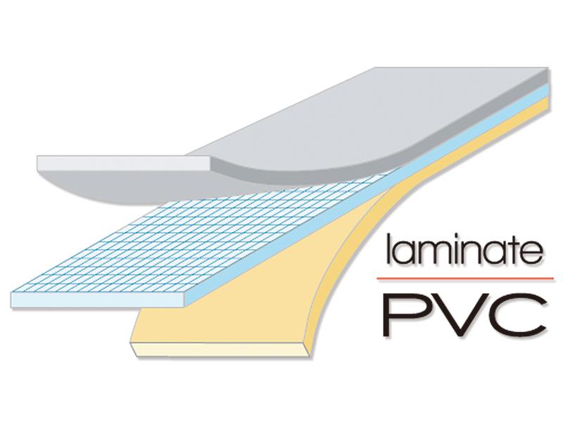 キャリーワゴン用水陸両用アタッチメントの各部の特徴(ラミネートPVC)