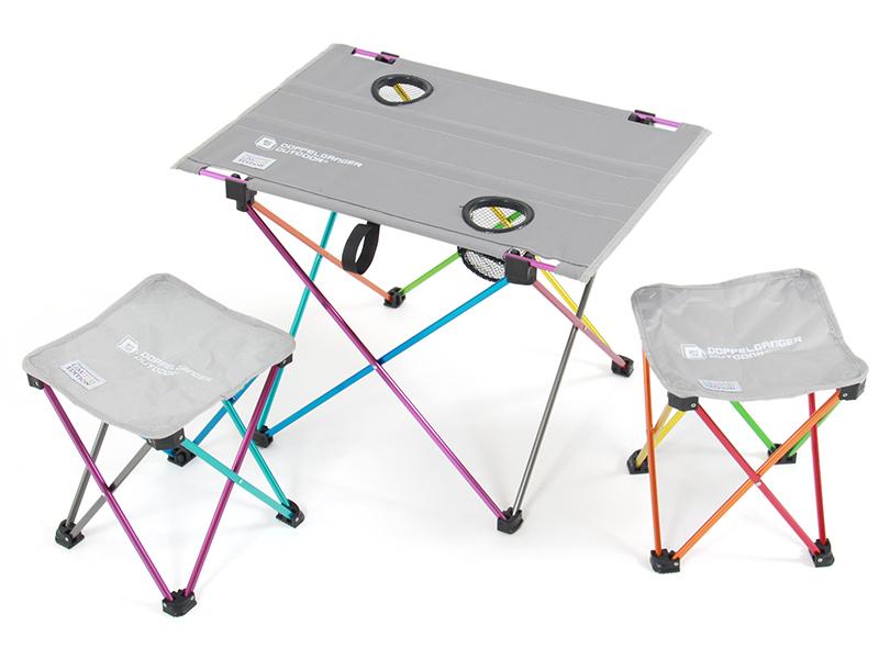 ウルトラライトテーブルセットの組立/設営方法