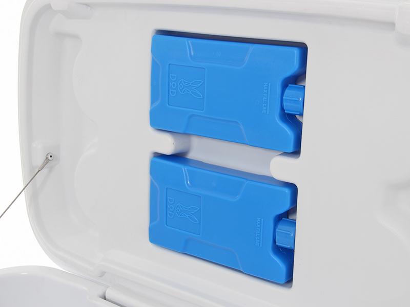 コールドサンダー専用保冷剤の使用方法画像