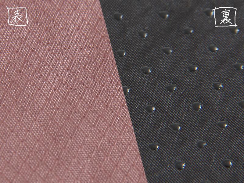丸洗いシーツエアマットの各部の特徴(リップストップ&滑り止め加工)
