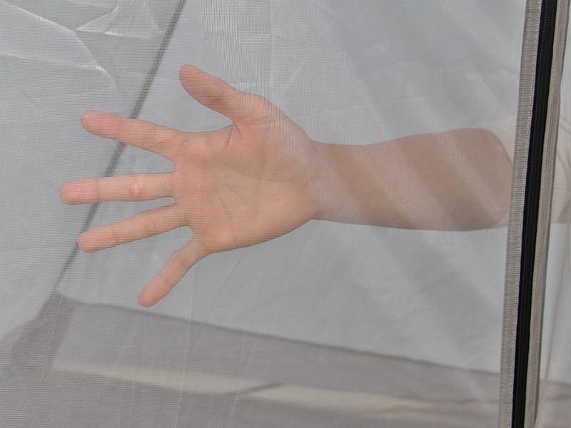 ライダーズワンポールテントの各部の特徴(ブレサブルインナー)