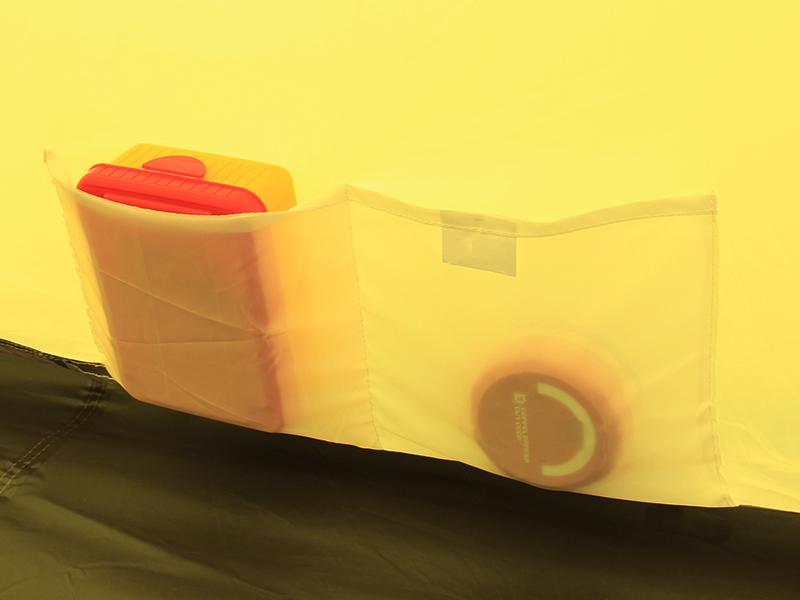1LDKタープの各部の特徴(インナーポケット)