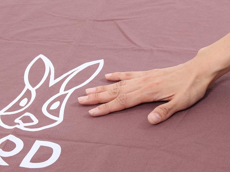 丸洗いシーツエアマットのメインの特徴(肌触りサラサラの綿100%)