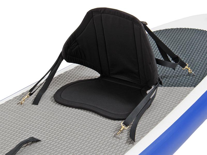スタンドアップパドルボードロングの各部の特徴(着脱可能なカヤックシート)