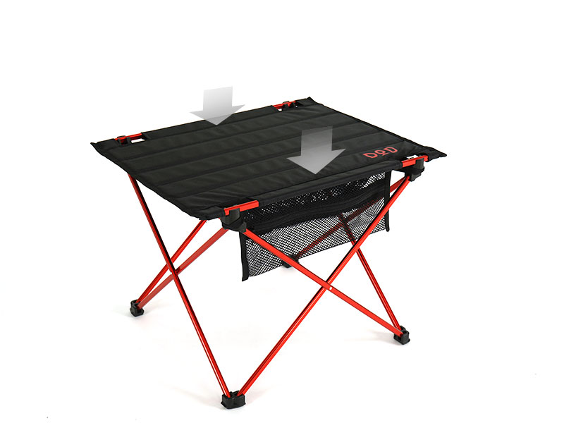 ライダーズテーブルの組立/設営方法