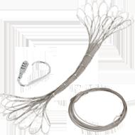 キャリーワゴン用ワイヤーロック画像