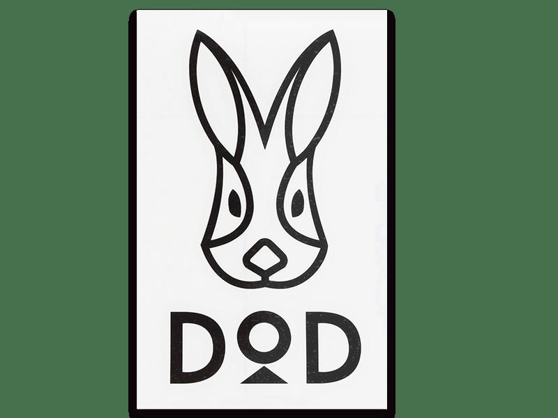 dodロゴステッカー dod ディーオーディー キャンプ用品ブランド