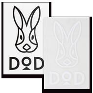 DODロゴステッカー