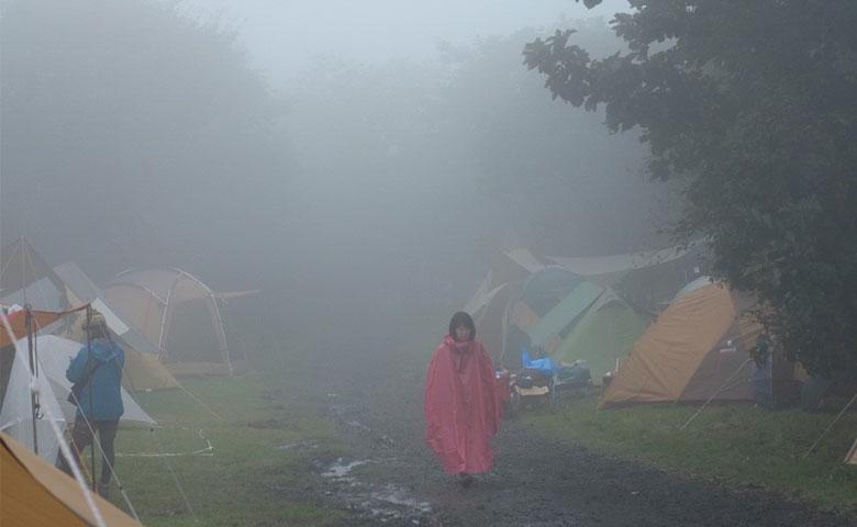 朝霧Jam キャンプフェス 雨対策