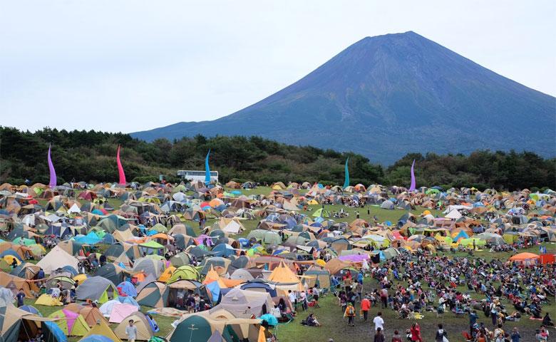 朝霧Jam キャンプフェス 富士山