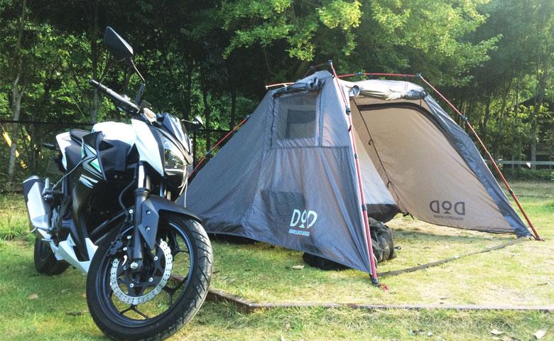【キャンプツーリング持ち物リスト公開!】バイクでのキャンプ道具の選び方と4つ工夫。