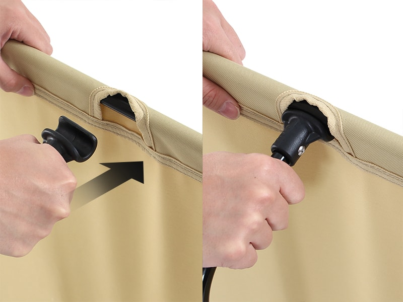 バッグインベッド 組立/設営方法画像