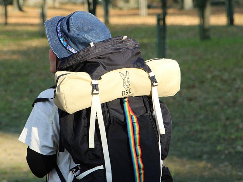 バッグインベッドのメインの特徴(キャンプフェスに背負って持ち出せる)